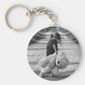 A time for a hug basic round button keychain