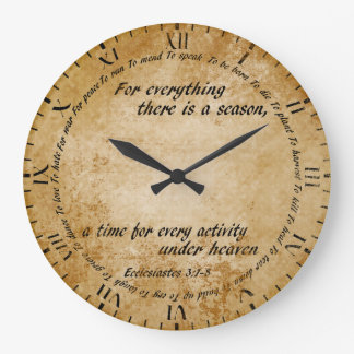 A Time For Everything Clock