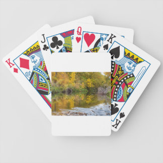 A Time For Reflections Bicycle Playing Cards