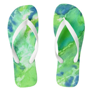 A Touch of Blue Flip Flop Sandals Flip Flops