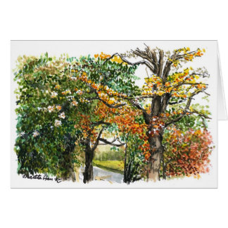 A touch of Fall Card