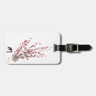 A touch of Fuschia Luggage Tag