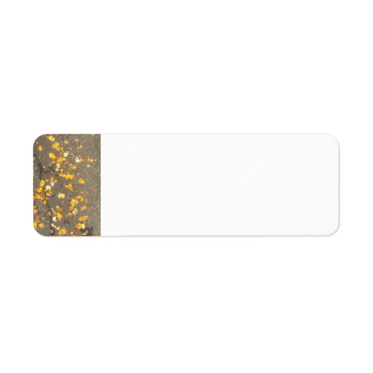A Touch of Gold Address Labels