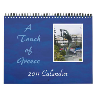 A Touch of Greece Wall Calendar