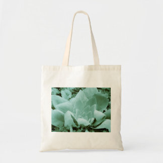 A touch of Green and Velvet Tote Bag