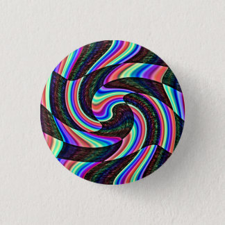 A Touch Of Madness 1 Inch Round Button