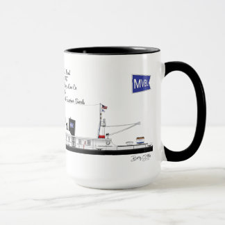 A Towboat named Frank C. Rand Mug