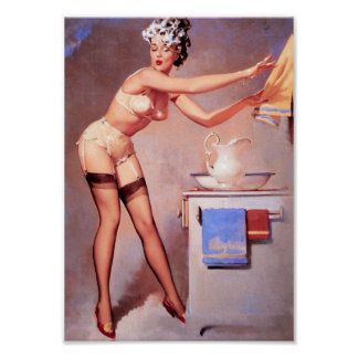 A Towel Please Pin Up Poster