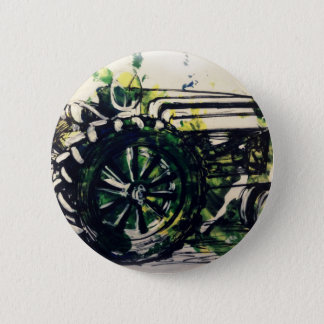 A Tractor! 2 Inch Round Button