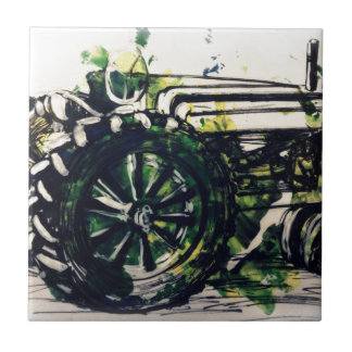 A Tractor! Tile