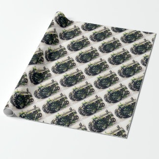 A Tractor! Wrapping Paper