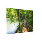 A Tranquil Hike Canvas Print