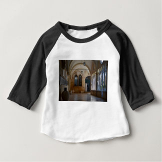 A Tranquil Monastery Cloister in Dubrovnik Baby T-Shirt