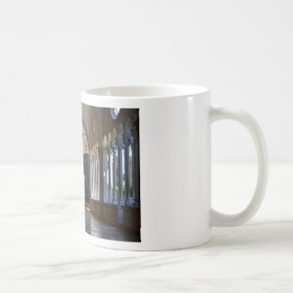 A Tranquil Monastery Cloister in Dubrovnik Coffee Mug