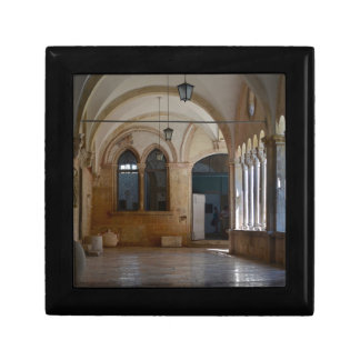 A Tranquil Monastery Cloister in Dubrovnik Gift Box