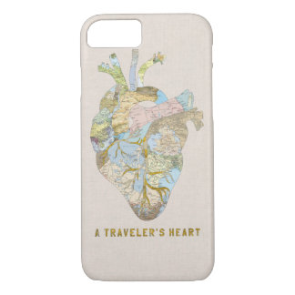 A Traveler's Heart iPhone 7 Case