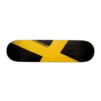 à travers la rue plateau de skate