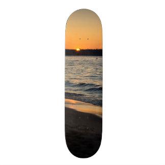 A Traverse Sunset Skateboard Deck