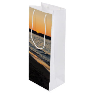 A Traverse Sunset Wine Gift Bag