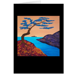"""""""A Tree For Trudy Three"""", Note card"""