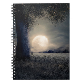 A Tree in the Moonlight Notebook