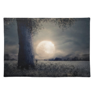 A Tree in the Moonlight Placemat