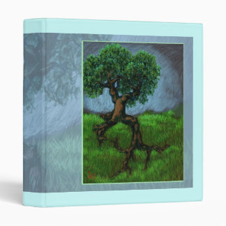 A Tree on a Hill Vinyl Binder