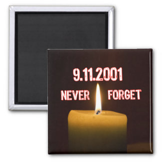 A Tribute To Our Fallen Heroes Of September 11 Square Magnet