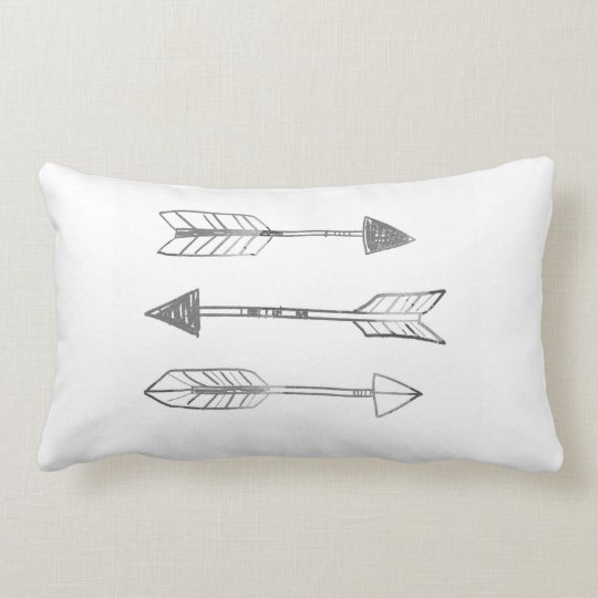 A Trinity of Arrows by VOL25 Lumbar Pillow