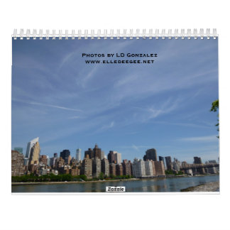 A Trip to New York Calendar