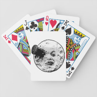 A Trip to the Moon Bicycle Playing Cards