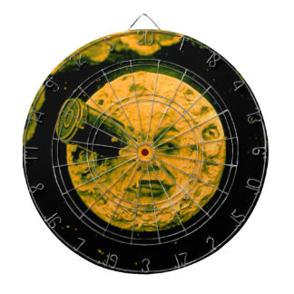 A Trip to the Moon (Gold Tone) Dartboards