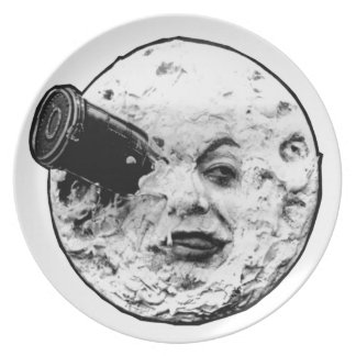 A Trip to the Moon Plate