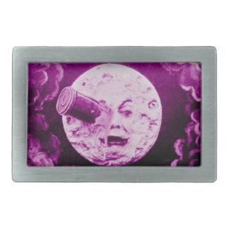 A Trip to the Moon Purple Hazed Belt Buckles
