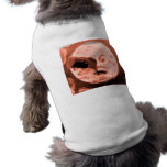A Trip to the Moon (Sepia Rose) Pet T Shirt