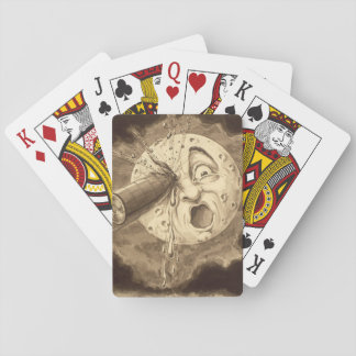 A Trip to the Moon Vintage Drawing Playing Cards