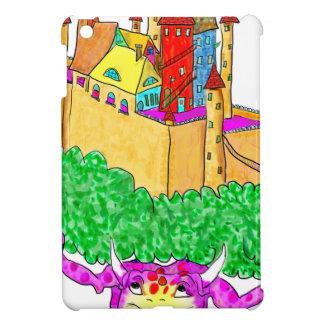 A troll and a castle iPad mini covers