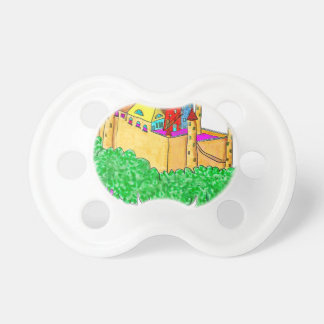 A troll and a castle pacifier