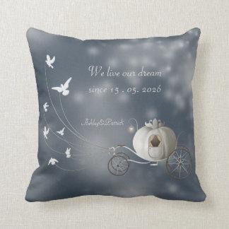 A True Fairy Tale Wedding Favor Throw Pillow