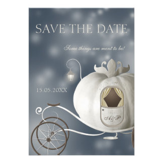 A True Fairy Tale Wedding Save the Date Personalized Invitation