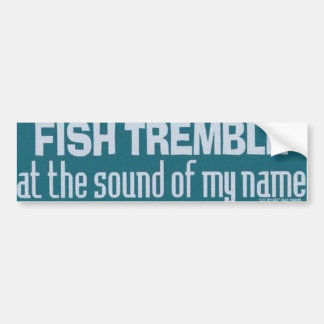 A True Fishermen Bumper Sticker