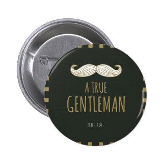 A True Gentleman 2 Inch Round Button