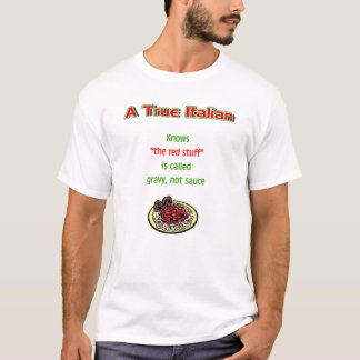 A True Italian Men's Basic T-shirt