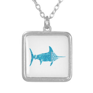 A TRUE LEGEND SILVER PLATED NECKLACE
