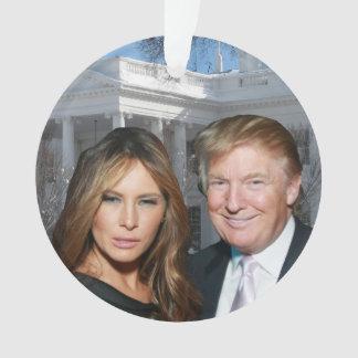 A Trump Christmas: Donald and Melania Ornament