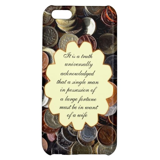A Truth Universally Acknowledged iPhone 5C Cover