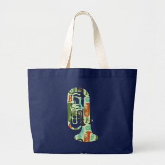 A Tuba of Tubas Large Tote Bag