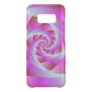 A Twist of Blue and Pink Uncommon Samsung Galaxy S8 Case
