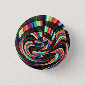 A Twisted Mind 1 Inch Round Button