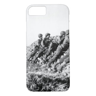 A U.S. Infantry anti-tank crew fires on_War image iPhone 7 Case